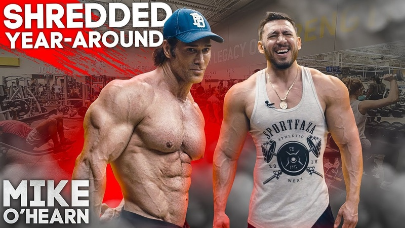 SHREDDED YEAR AROUND MIKE O'HEARN 50years YOUNG
