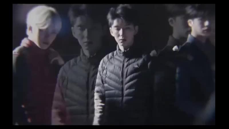 Monsta X vine ▸ Chae Hyungwon x Lee Minhyuk x Yoo Kihyun