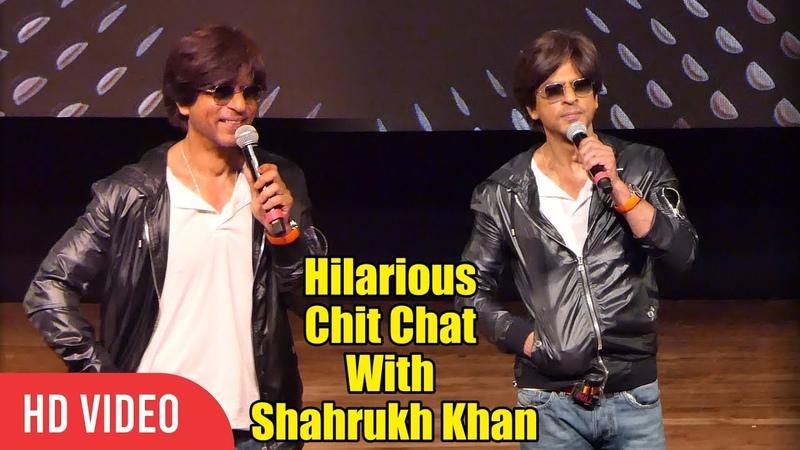 Hilarious Chit Chat With Shahrukh Khan | Shahrukh Khan 54th Birthday Celebration