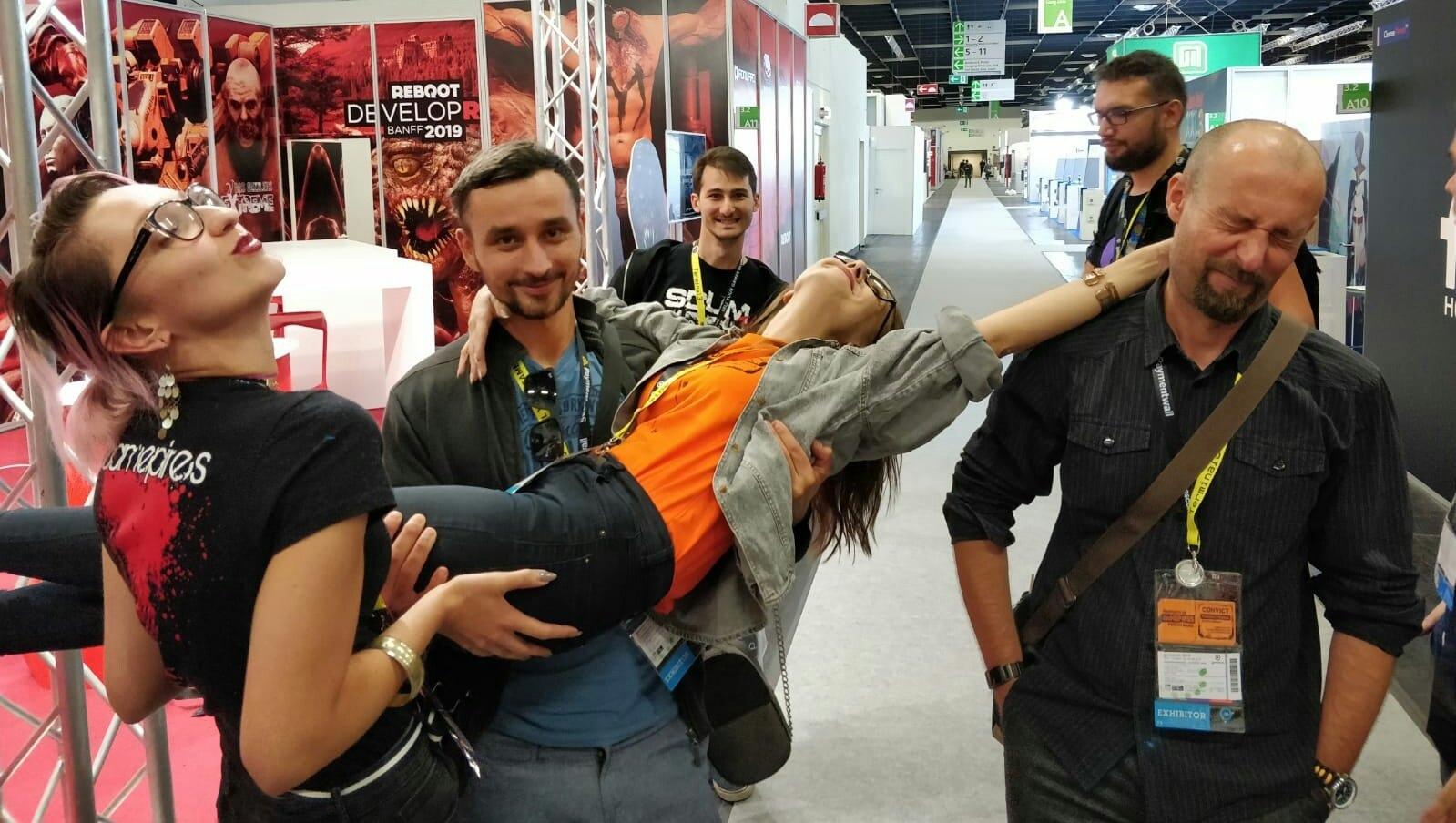 Еще немного фото с выставки GAMESCOM...