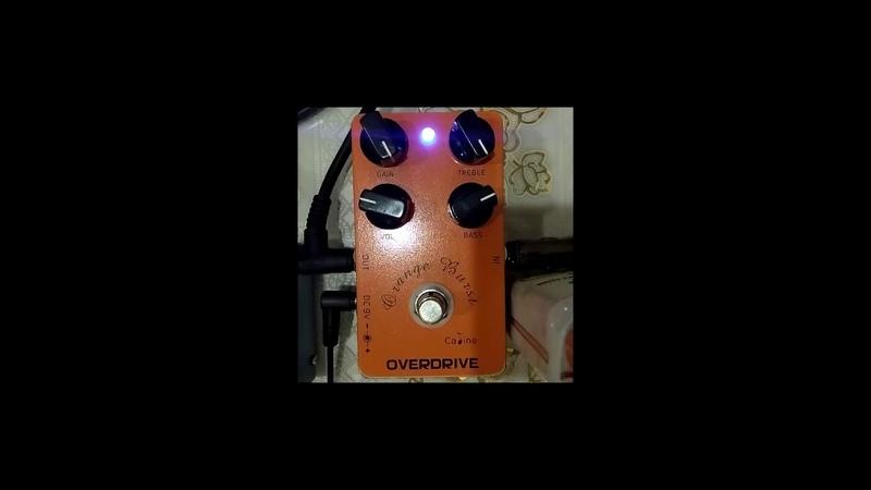 Обзор Caline Orange Burst CP-18
