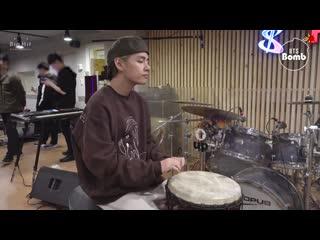[bangtan bomb] drummer boy v & jk