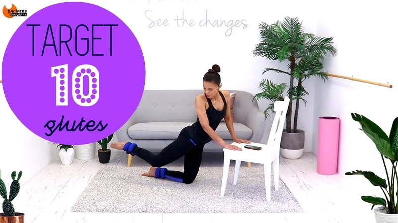 Ankle Weight Butt Workout BARLATES BODY BLITZ Target 10 Glutes