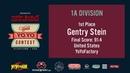 2019World Final 1A 01 Gentry Stein WORLD YOYO CONTEST 2019 Presented by Cloud Native Inc WYYC2019