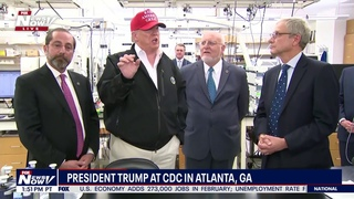 WHAT ARE WE HERE FOR? President Trump goes off on tangents in Atlanta, GA