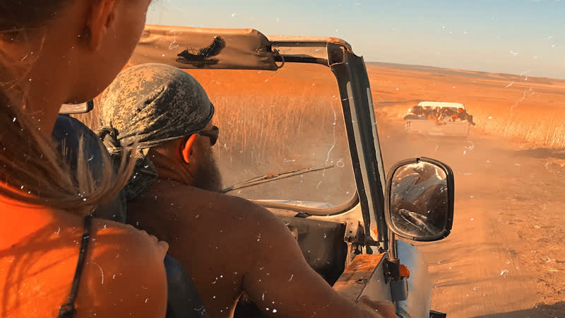 Jeep safari with my guys