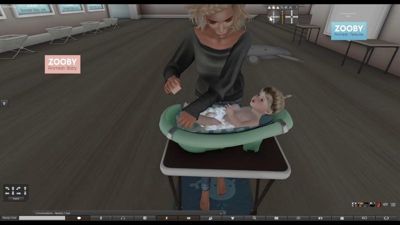 Zooby Animesh Baby Bath