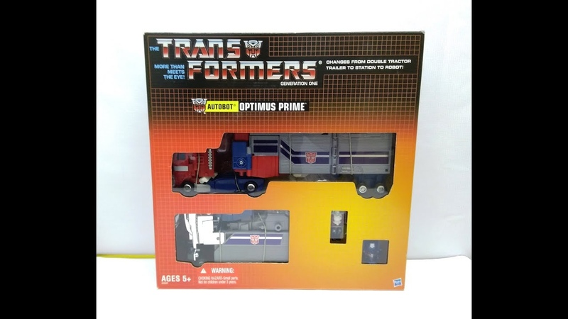 Обзор трансформера Powermaster Optimus Prime (God Ginrai) - Transformers Masterforce. Музей Р-ТФ.