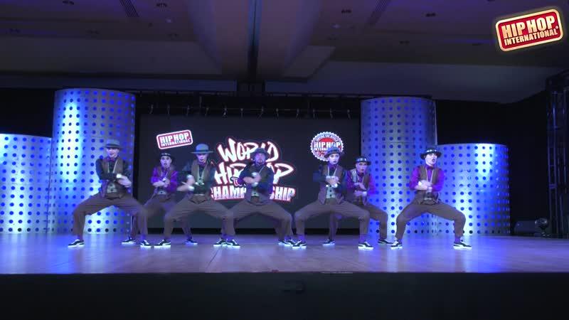 Banda ILL - Russia (Adult) HHI 2019 World Hip Hop Dance Championship Semis
