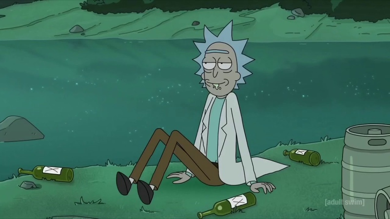 Mask off Future Rick and Morty Percocet