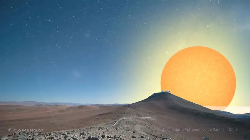 Cómo se verían otras estrellas en el lugar del Sol
