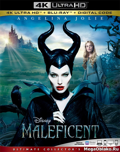 Малефисента / Maleficent (2014) | UltraHD 4K 2160p