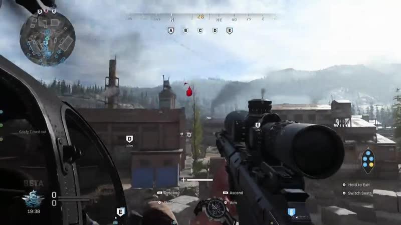 Well don't throw Semtex when you hop on the heli. Modern Warfare