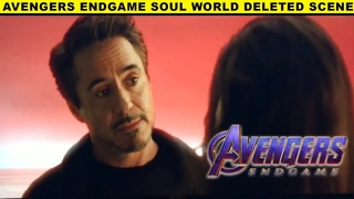 Avengers Endgame Soul World Deleted Scene | Morgan Stark | Tony Stark