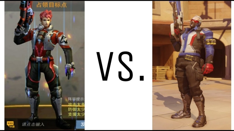 Overwatch vs. Heroes of Warfare