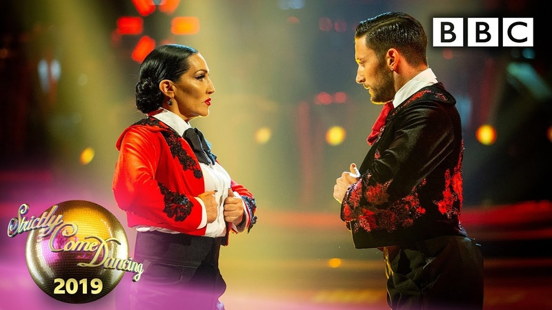 Michelle and Giovanni Paso Doble to 'Another One Bites the Dust' Week 7 BBC Strictly 2019