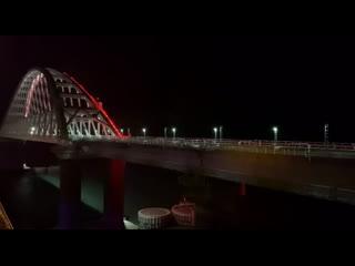 Поезд Санкт-Петербург - Севастополь этой ночью впервые в истории проехал по Крымскому мосту