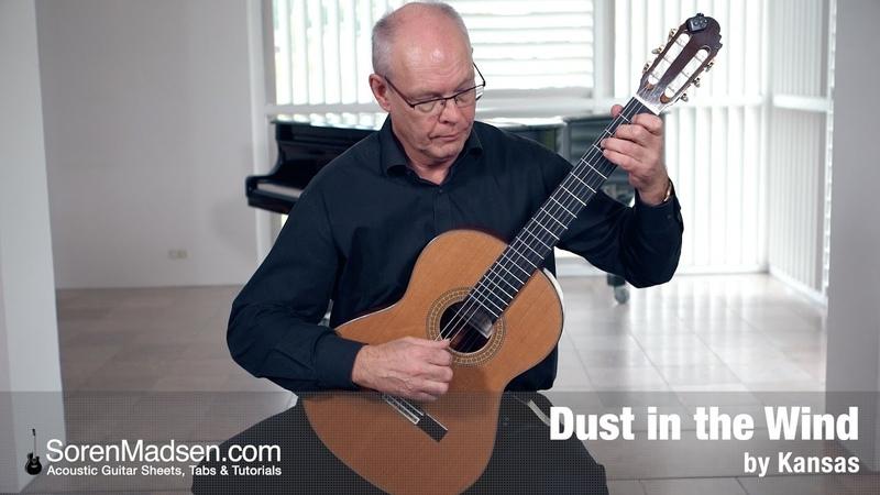 Dust in the Wind Kansas Danish Guitar Performance Soren Madsen