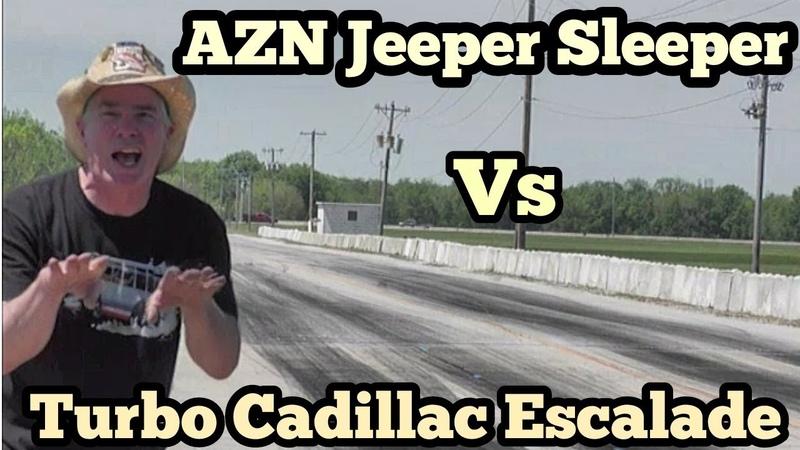 Azn Jeeper Sleeper vs Turbo Cadillac Escalade at the Gold Rush Rally