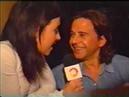 Mariana Brey a los besos con Osvaldo Laport y Carlos Calvo