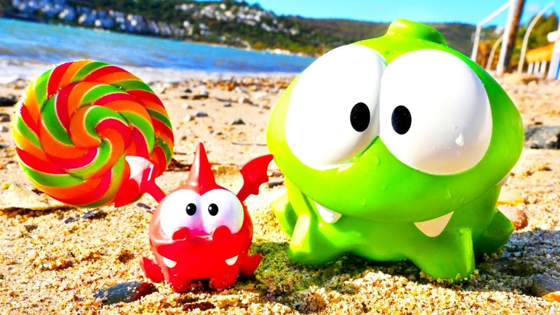 Om Nom and Candy for a Dragon: Cut the Rope New Episode - Funny Cartoons for Kids