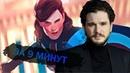 Кит Харингтон и Лунный Рыцарь Мисс Марвел и Чёрная Пантера 2 разбор анонсов Marvel