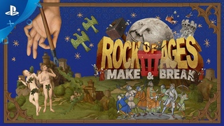 Rock of Ages 3: Make & Break - Announcement Trailer | PS4