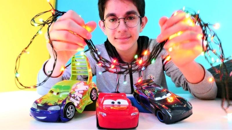 Araba oyunları çocuklar için. Şimşek McQueen parti veriyor