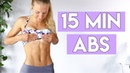 AB WORKOUT FOR BEGINNERS (No Equipment 15 Min)