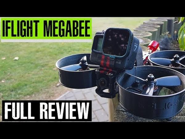 Обзор CineWhoop квадрокоптера для GoPro iFlight MegaBee v2 на английском языке от Whirly Bloke