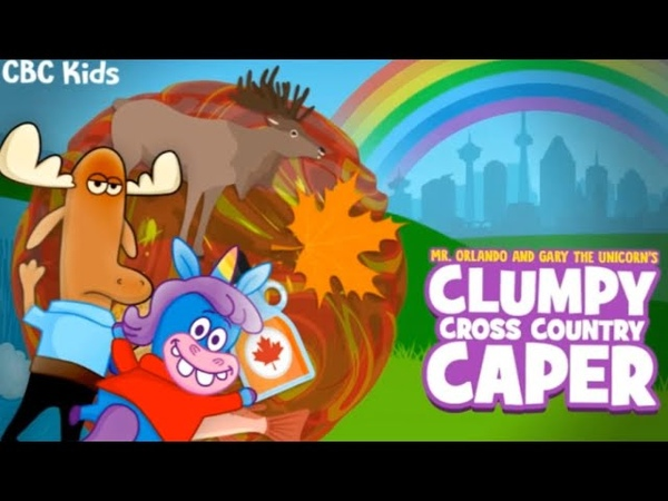 Clumpy Cross Country Caper CBC Kids Games