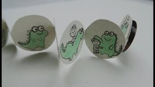 Handmade Mini Button Book|DIY Craft |illustrate Cute Dinosaur Story|Cute Dogs|Kawaii donuts drawing