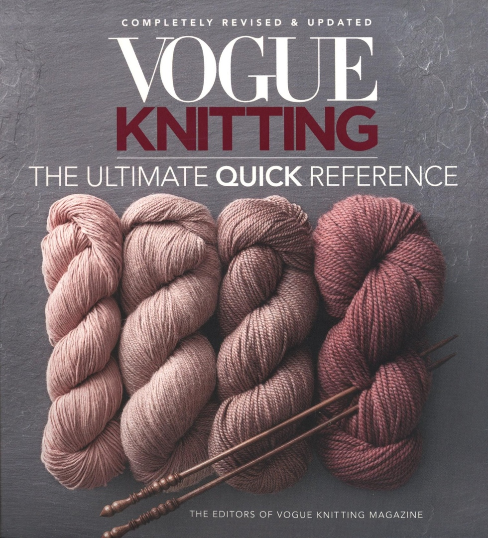 Vogue Knitting The Ultimate Quick Reference 2019