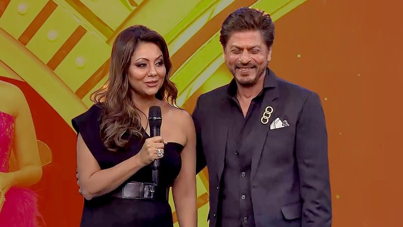 Adorable Shah Rukh Khan Gauri Spill Each Other's Secrets Out