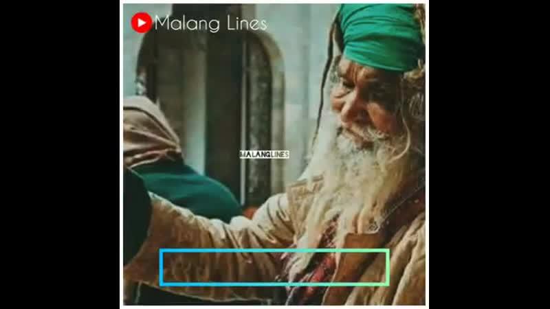 Mujhy Masjidoon Ki Khabar Nahi Mujhy Mandiron Ka Pata Nahi Malang Lines Whatsapp Status 360p mp4