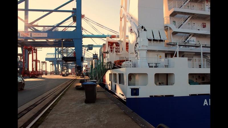 Frachtschiffreise mit MS Anna Sirkka nach Schweden - 1. Reise Okt. 2015