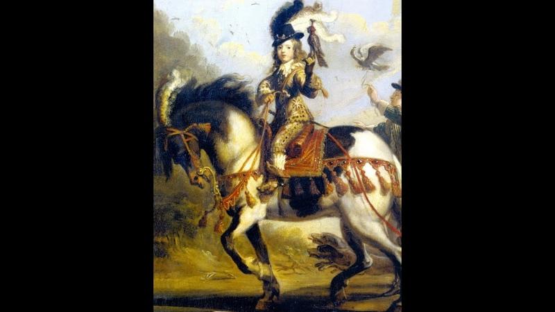 Два короля Людовик XIV в молодости и старости