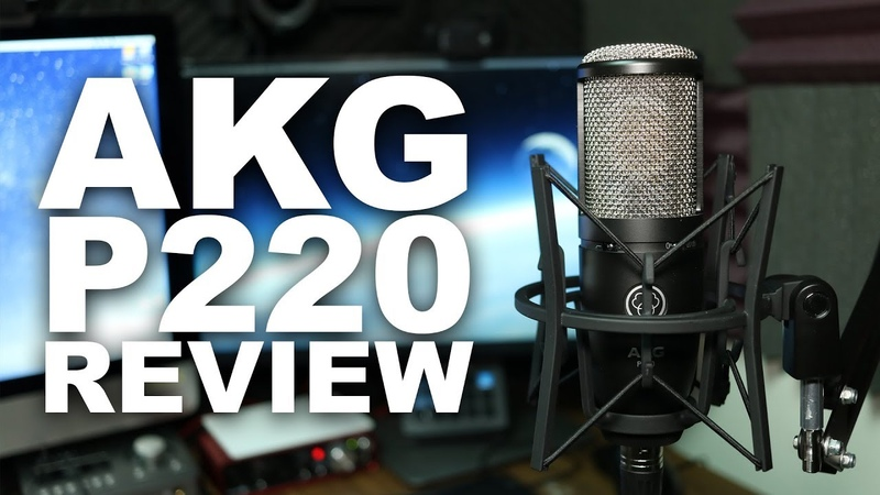 AKG P220 Condenser Microphone Review Test