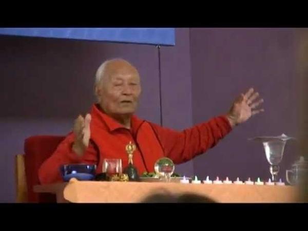 First talk by Choegyal Namkhai Norbu at the new Vajra Hall