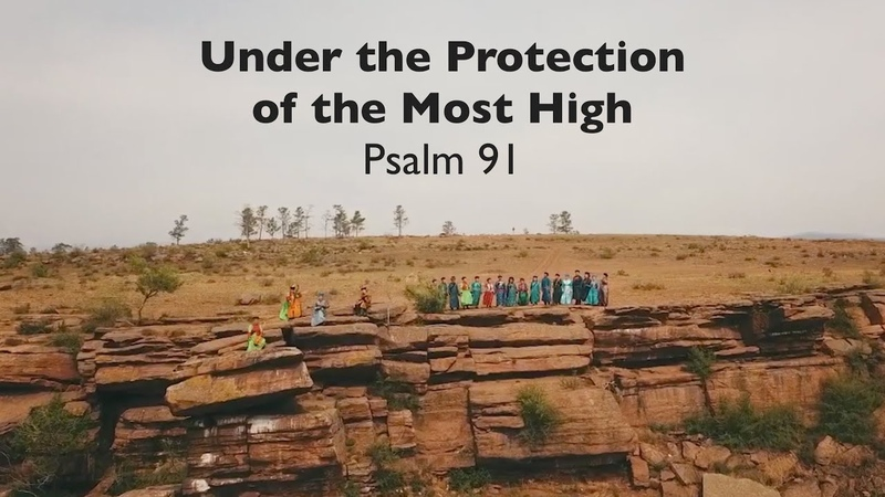 Under the Protection of the Most High Psalm 91 in Buryat language with English subtitles