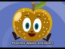 Peaches Apples and Pears Family Sing Along Muffin Songs