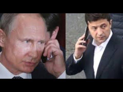 Зеленский позвонил Путину Я очень вас прошу повлиять на ту сторону прекратили убивать наших людей