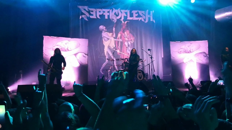 Septicflesh - The Vampire From Nazareth (live in Moscow 11.10.19)
