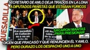 ¡SECRETARIO DE AMLO TUNDE A DIPUTADOS PANISTAS QUE DICEN QUE FRACASÓ Y QUE RENUNCIE