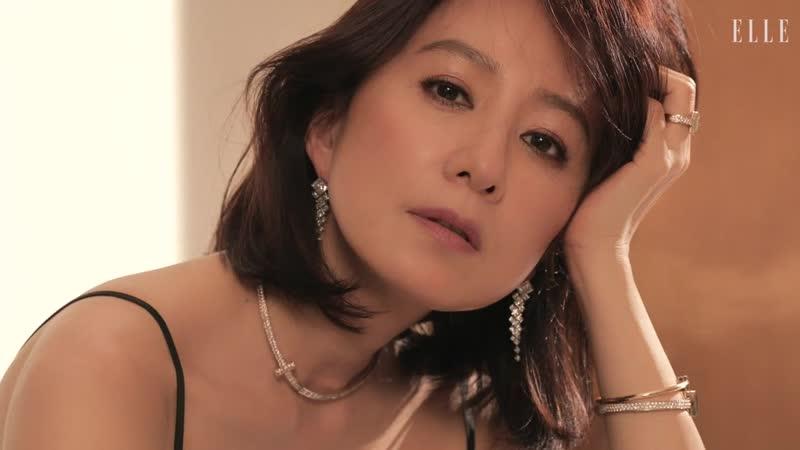 Ким Хи Э для журнала ELLE и бренда Tiffany июнь 2020