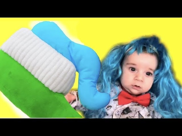 Brush Your Teeth! Kids Song Nursery Rhymes. Morning routine. baby song