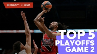 Turkish Airlines EuroLeague Playoffs Game 2 Top 5 Plays