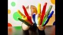 СЕМЬЯ ПАЛЬЧИКОВ Finger Family Поем песенку про пальчики Finger Family и учим цвета