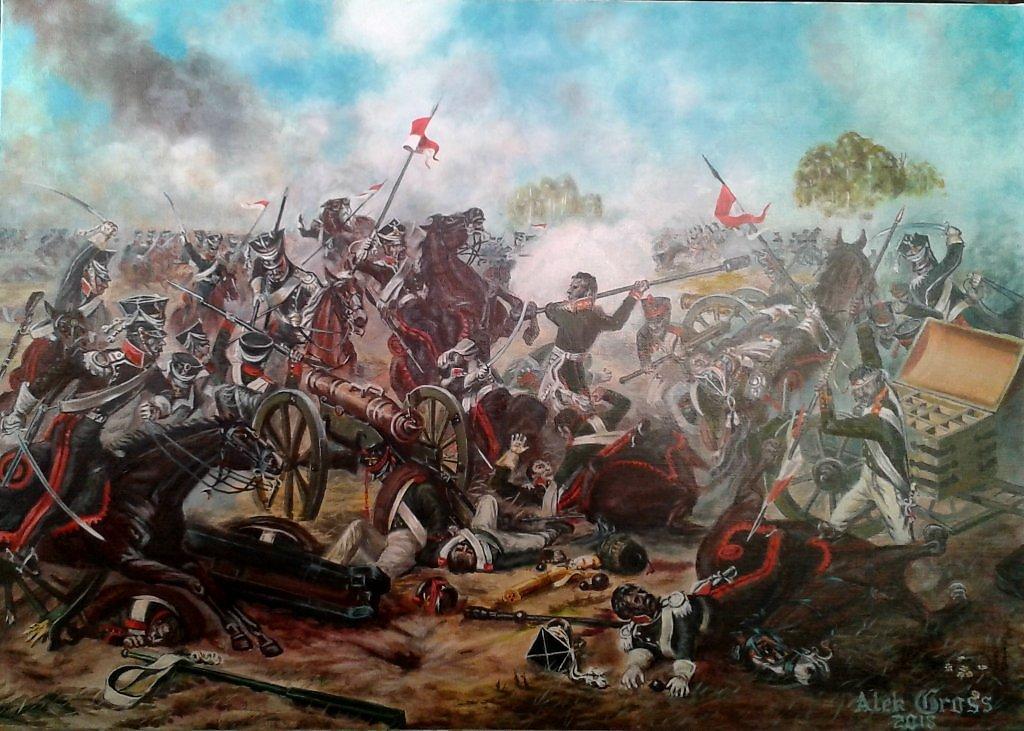 бородинское сражение в картинах художников нас можно