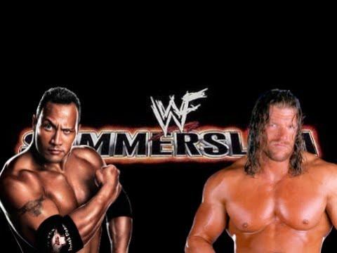 WWE 2K19 Triple H vs The Rock, SummerSlam '99, Steel Cage Match